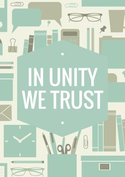 In unity we trust Citation