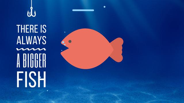 Bigger Fish Concept Full HD videoデザインテンプレート