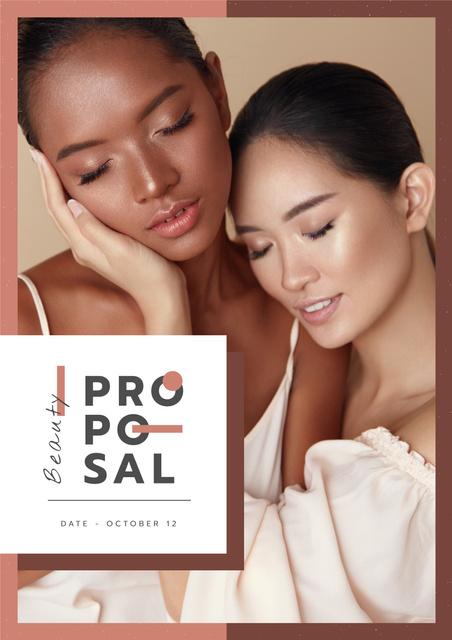 Modèle de visuel Skincare Products offer - Proposal