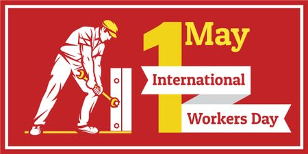 Happy International Workers Day Imageデザインテンプレート