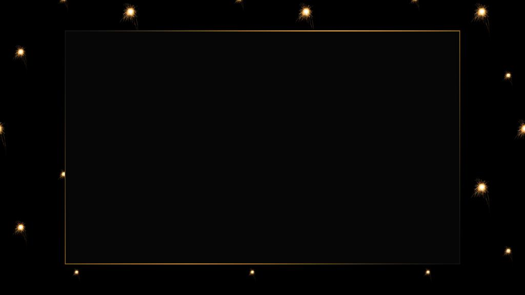 Gold frame with Starry Sky background —デザインを作成する