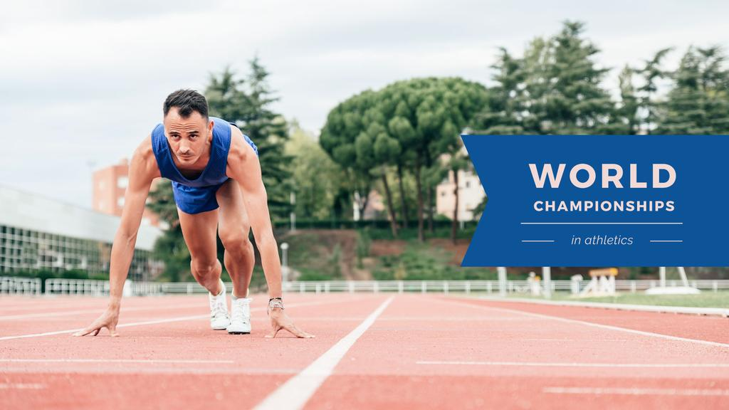World championships in athletics — Create a Design
