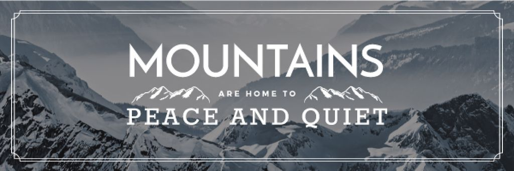 Mountain hiking travel —デザインを作成する