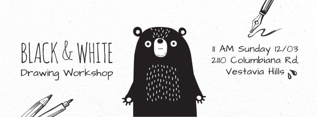 Scary black bear — Створити дизайн