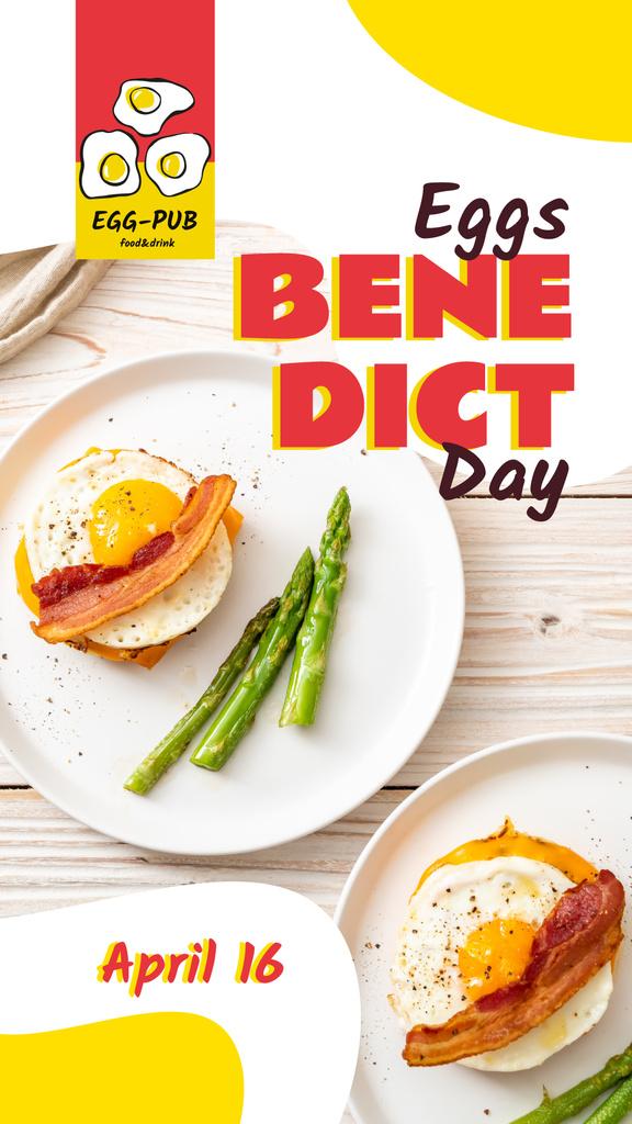 Eggs Benedict day — Créer un visuel