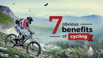 benefits of cycling motivation poster