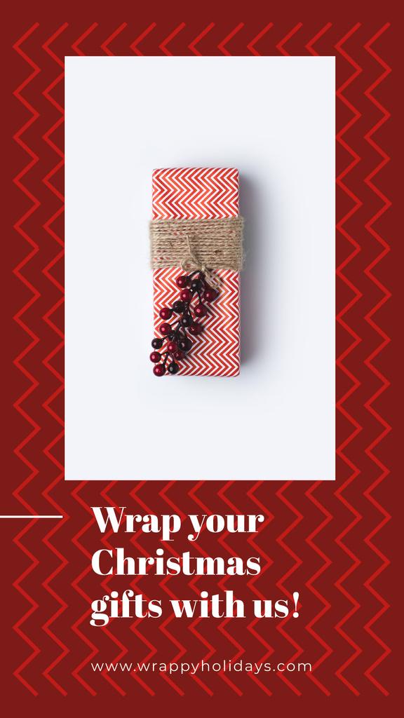 Christmas gift box — Crear un diseño