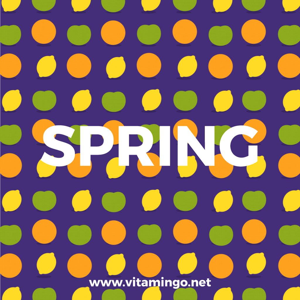 Blinking Citrus Fruits — Create a Design
