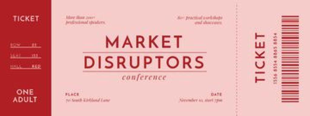 Marketing Conference announcement - Vytvořte návrh
