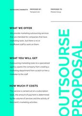 Outsource Marketing Services offer