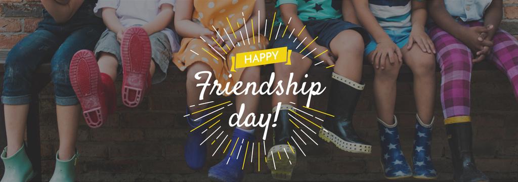 happy friendship day poster — ein Design erstellen