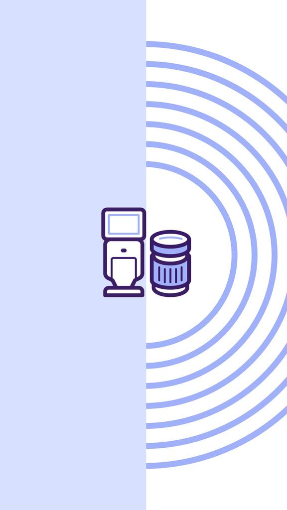 Gadgets and Electronics store icons — Modelo de projeto