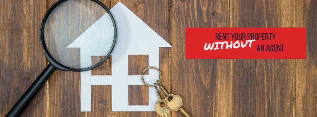 House keys and magnifier — Crear un diseño