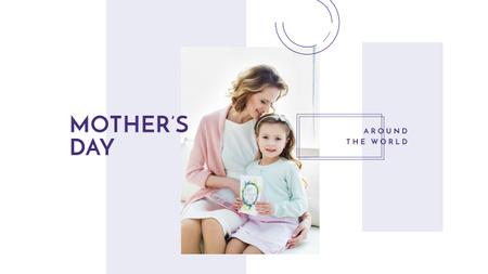 Ontwerpsjabloon van Youtube van Mother's Day Greeting