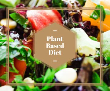 plant based diet background