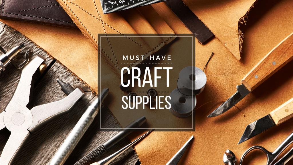 Must-have craft supplies — Создать дизайн