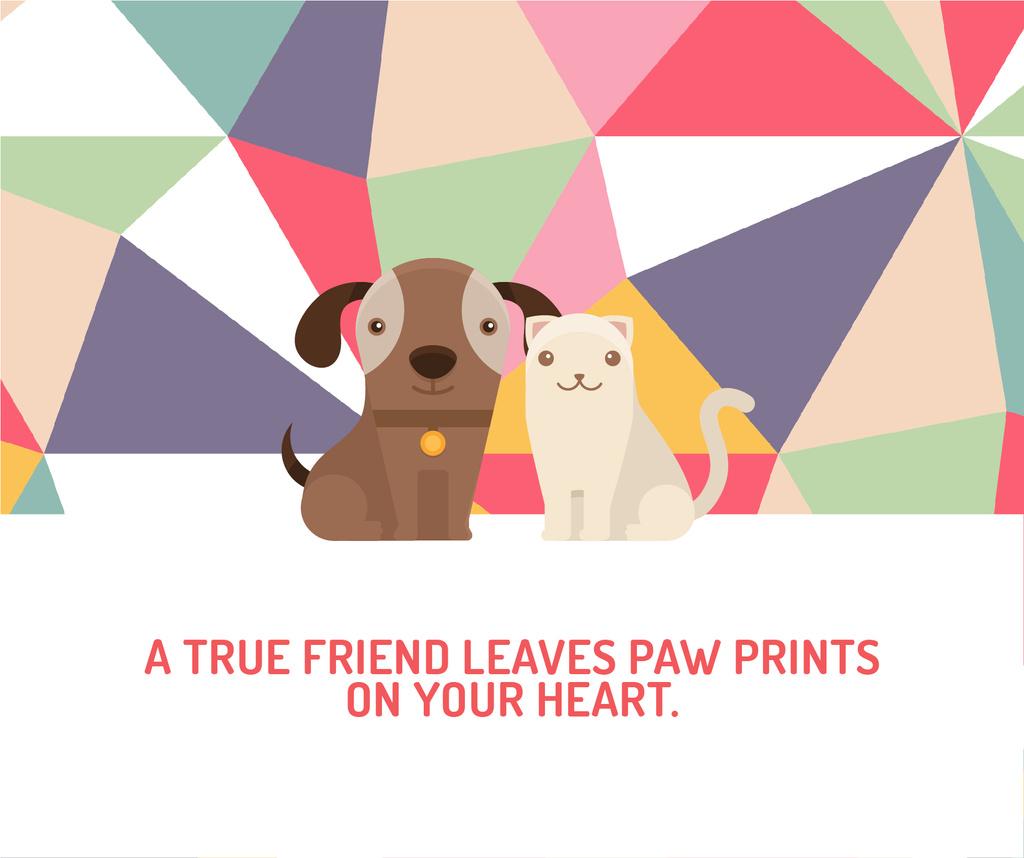 Citation about a true friend  — Créer un visuel