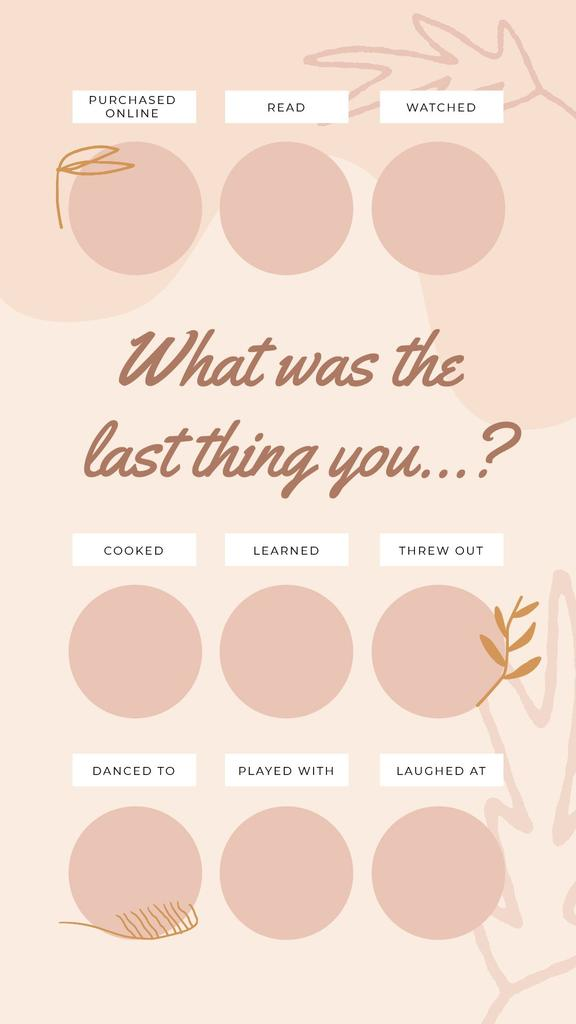 Checkbox with last thing in pink — Crear un diseño