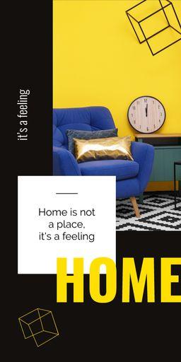 Cozy Interior In Bright Colors BlogGraphics