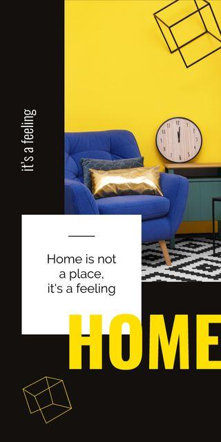 Cozy interior in bright colors Graphic – шаблон для дизайну