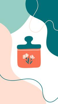 Organic Cosmetics icons