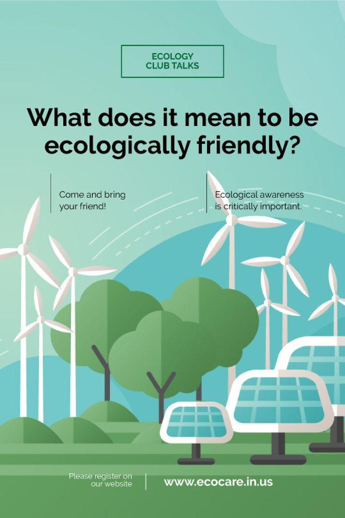 Renewable Energy Wind Turbines and Solar Panels — Crea un design
