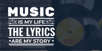 Citation about Music with vinyl