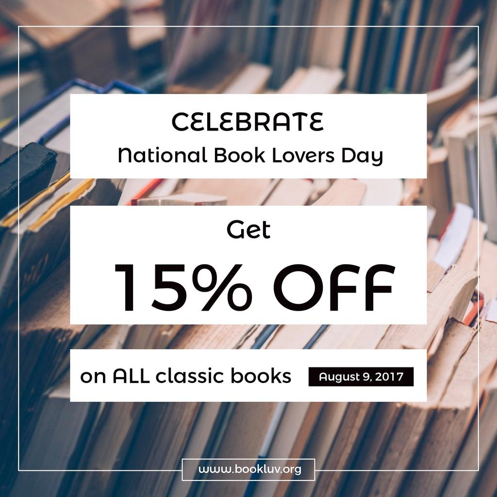 Discount card for National book lovers day — Створити дизайн