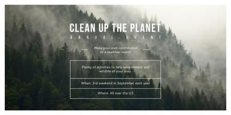 Clean up the Planet Annual event Imageデザインテンプレート