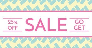 Sale announcement banner