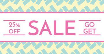 Sale announcement banner