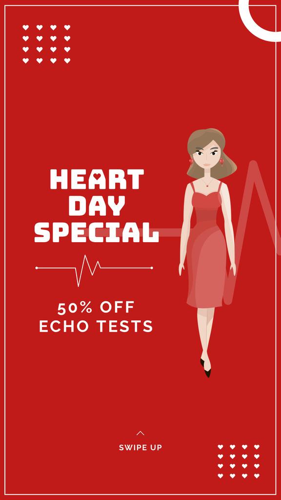Heart Day clinic offer — Maak een ontwerp