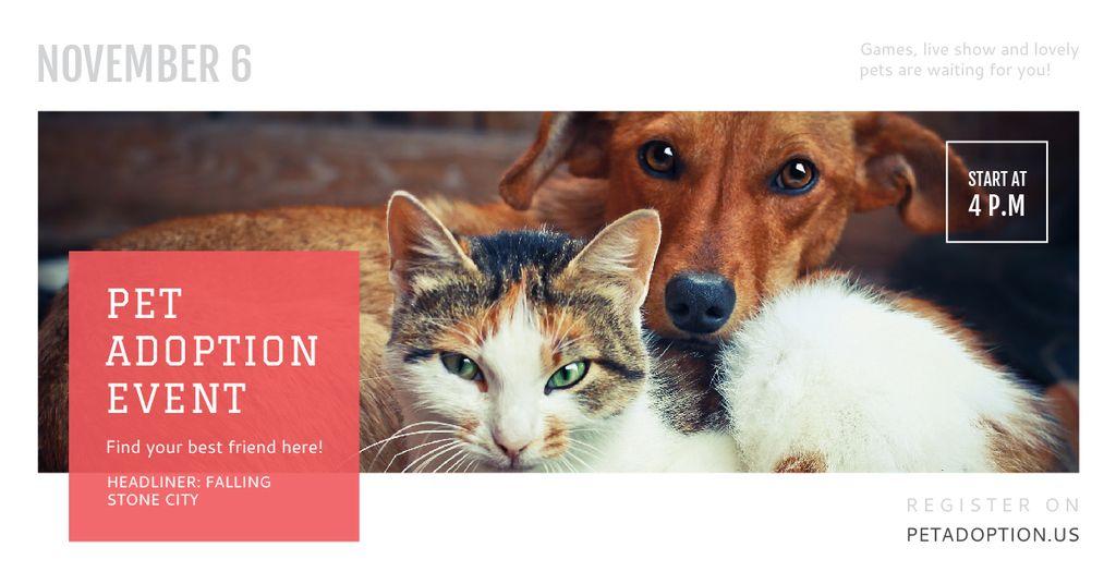 Pet adoption Event — Modelo de projeto