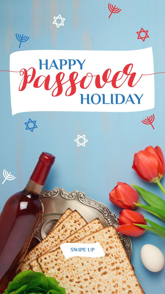 Happy Passover holiday Greeting — Create a Design