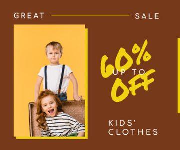 Kids' Clothes Sale Happy Little Kids