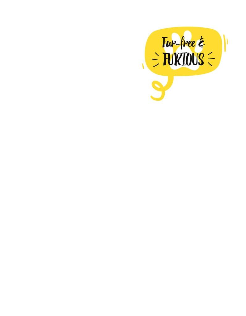 Ontwerpsjabloon van T-Shirt van Dog's Footprint on Yellow