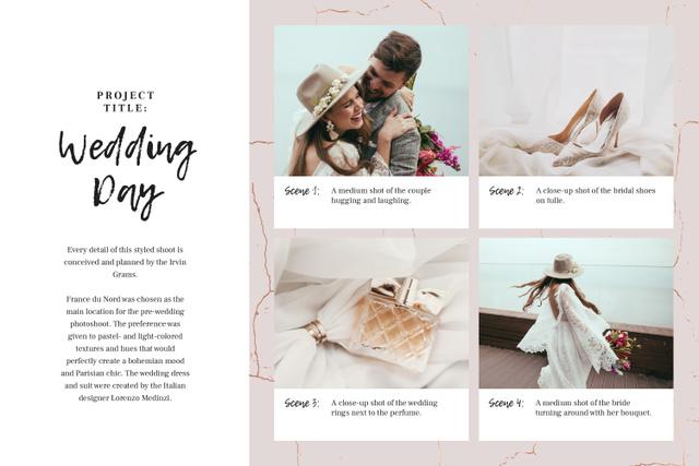 Modèle de visuel Happy Couple with Wedding attributes - Storyboard