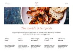 Citation about Food with Mussels