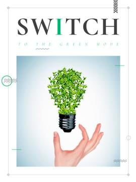 Switch to the green mode poster