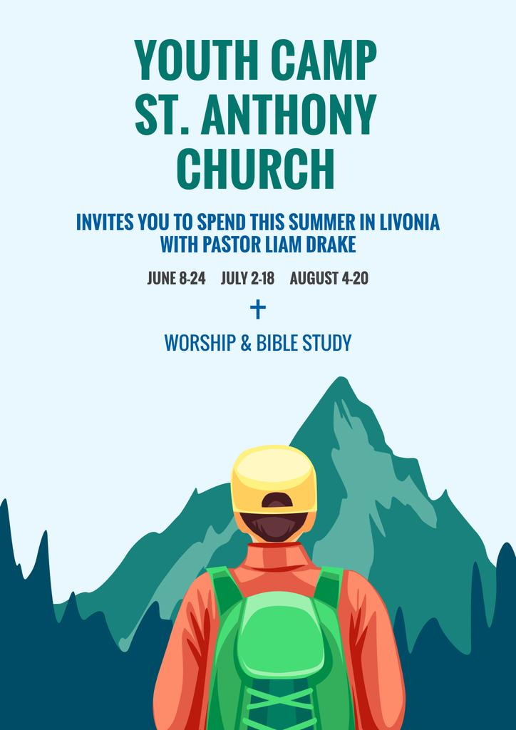 Youth religion camp of St. Anthony Church — ein Design erstellen