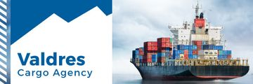 Transportation agency advertisement with Ship