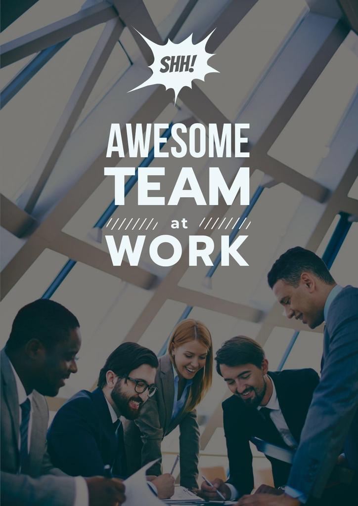 Successful Business Team at the Meeting — Crear un diseño