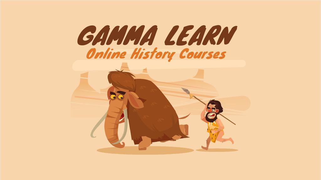 Caveman Hunting for Mammoth — Створити дизайн
