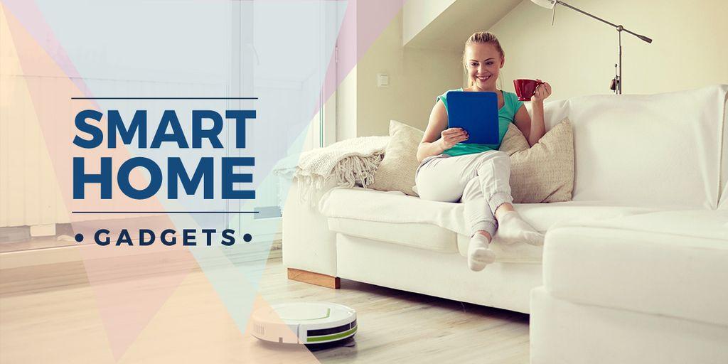 smart home gadgets poster  — Crear un diseño
