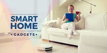 smart home gadgets poster