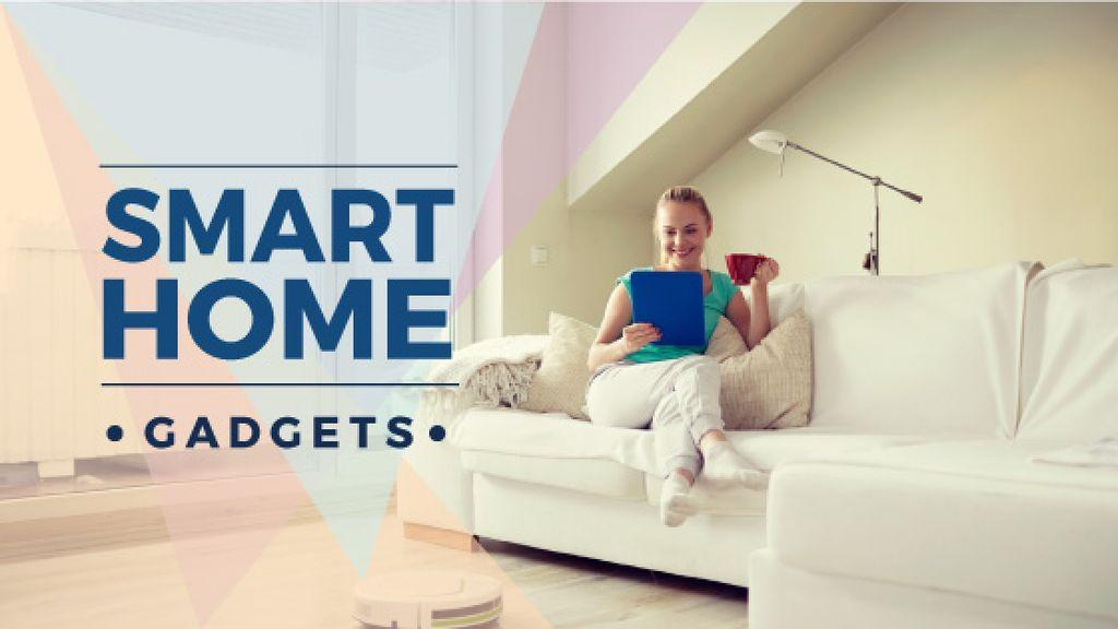 smart home gadgets poster — Maak een ontwerp