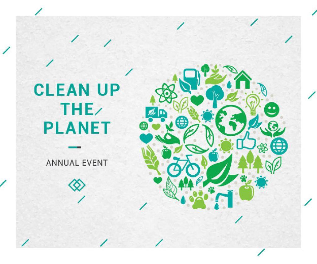 Clean up the Planet Annual event — Modelo de projeto