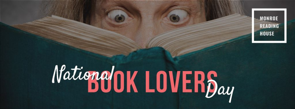national book lovers day poster — Crea un design