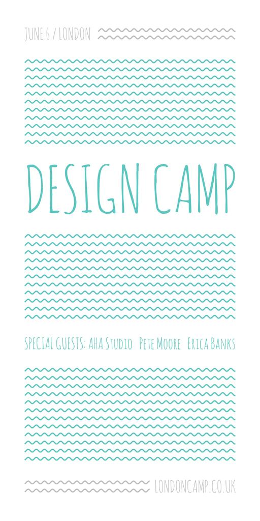 Design camp in London — Create a Design