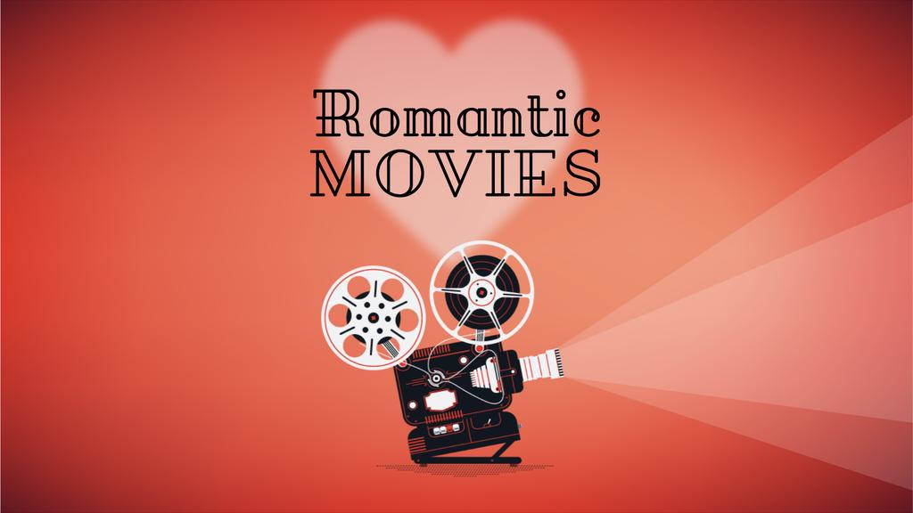 Film projector with Valentine's Day Movie — Создать дизайн